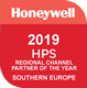 Honeywell 2019 HPS regional channel partner of the year - Southern Europe